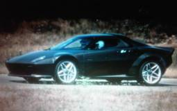 Lancia Stratos spy photos