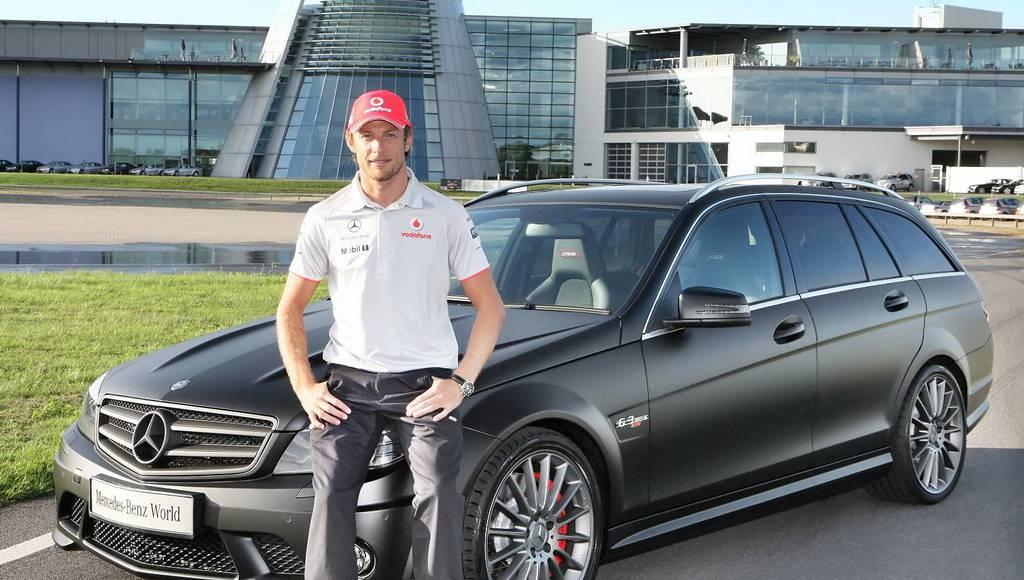 Mercedes C Class DR 520 Estate for Jenson Button