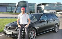 Mercedes C Class DR 520 Estate for Jenson Button