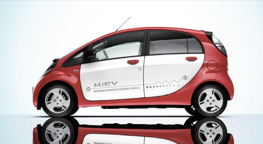 Mitsubishi i-MiEV European spec