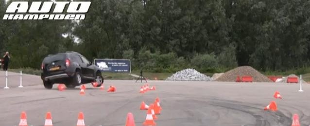 Video: Dacia Duster stability test