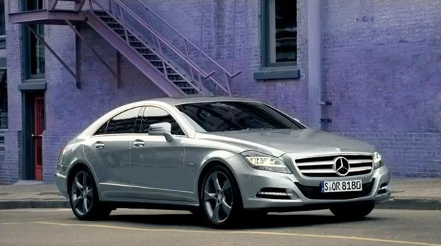2011 Mercedes CLS commercial video