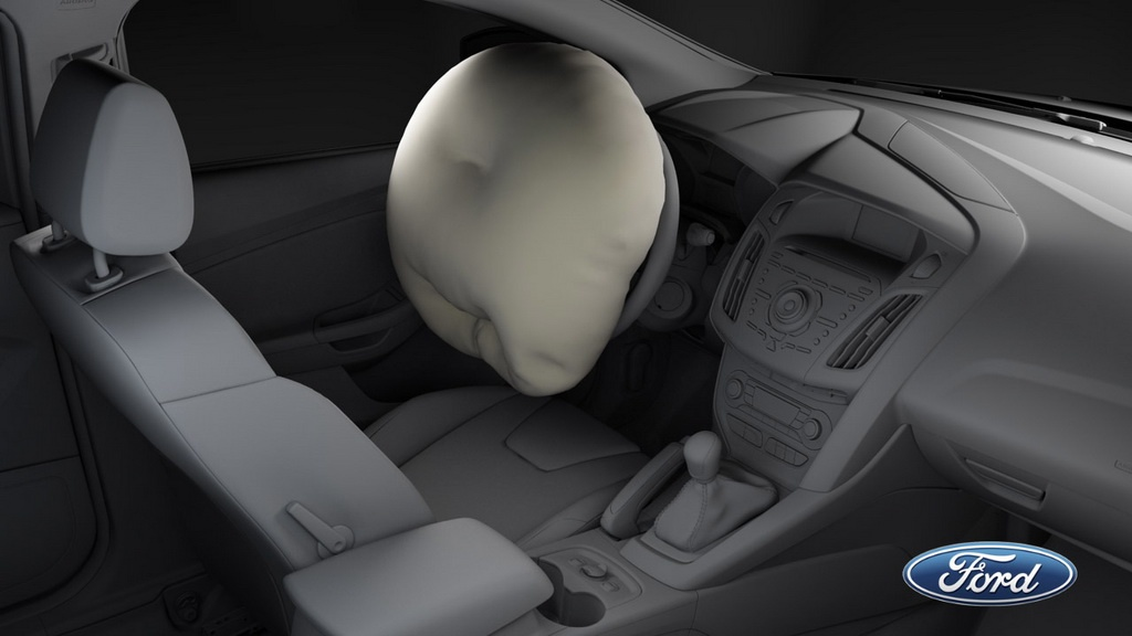 2012 Ford Focus new airbag technologies