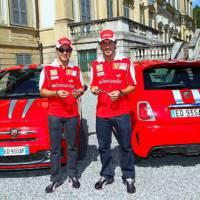 Abarth 695 Tributo Ferrari for Massa and Alonso