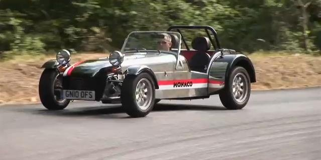 Caterham Roadsport Monaco review video