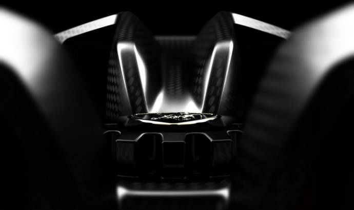 Lamborghini teaser 4 of 6