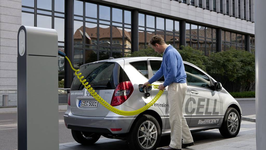Mercedes A Class E-CELL