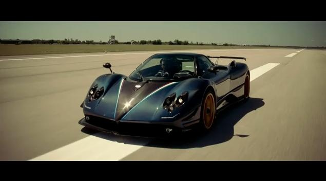 Pagani Zonda Tricolore video
