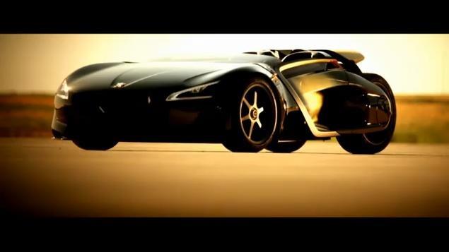 Peugeot EX1 Concept video