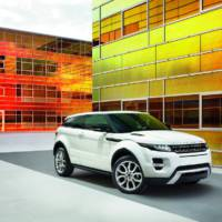 Range Rover Evoque uncovered