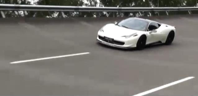 Video: Oakley Ferrari 458 Italia