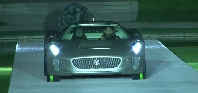 Jaguar CX75 Concept video