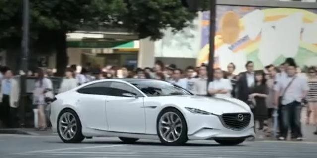 Mazda Shinari video