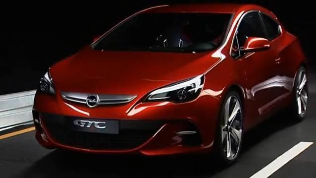 Opel GTC Paris video