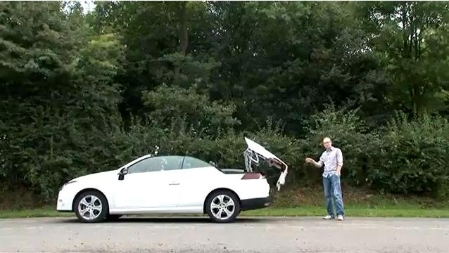Renault Megane CC review video