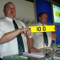 10 O Plate sold for 92920 GBP