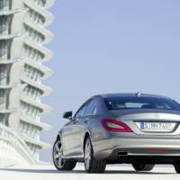 2011 Mercedes CLS in detail