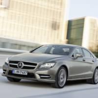 2011 Mercedes CLS in detail