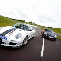 2011 Porsche 911 GT3 RS Cup race car