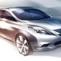 2012 Nissan Versa teaser
