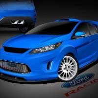 Custom Ford Fiestas for SEMA 2010
