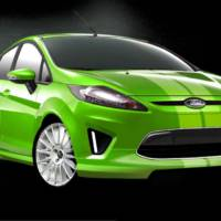 Custom Ford Fiestas for SEMA 2010