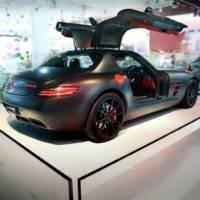Mercedes C63 AMG Concept 358 and SLS AMG Night Black