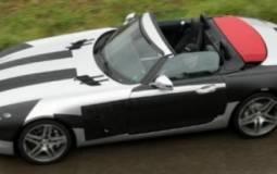 Mercedes SLS AMG Convertible spy photo