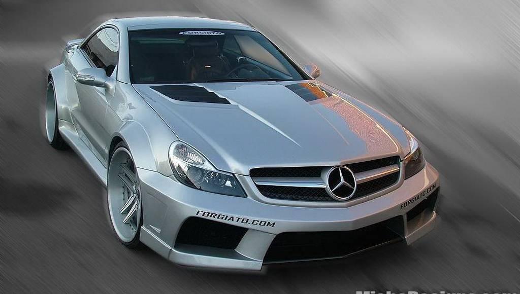 Misha Design Mercedes SL Widebody