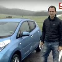 Video: Ben Collins does Nissan LEAF review