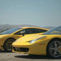 Video: Ferrari 458 Italia vs Lamborghini Gallardo Superleggera