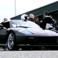 Video: New Lancia Stratos testing