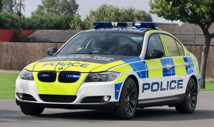 2011 BMW 5 Series Police Car