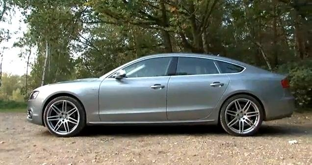 Audi S5 Sportback review video