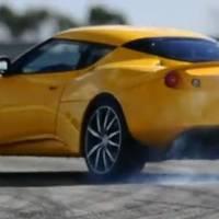 Lotus Evora S test drive video