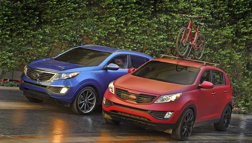 SEMA 2010: 2011 Kia Sportage Concepts