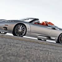 Spyker C8 Aileron Spyder UK debut