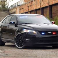 Stealth Ford Police Interceptor concept