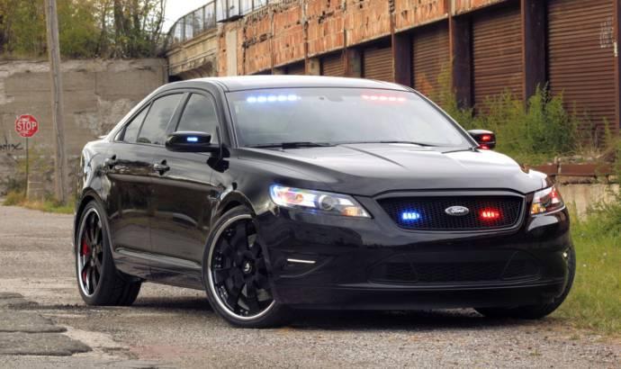 Stealth Ford Police Interceptor concept