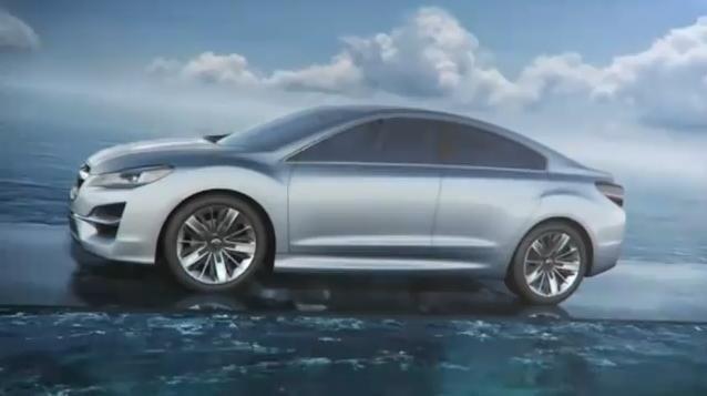 Subaru Impreza Concept video