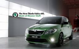 Video: Skoda Fabia vRS Commercial
