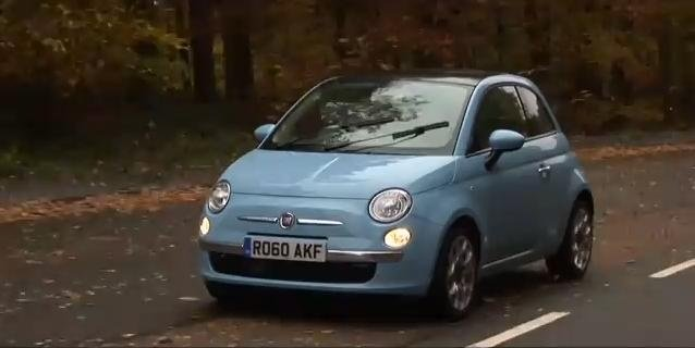 Fiat 500 TwinAir review video