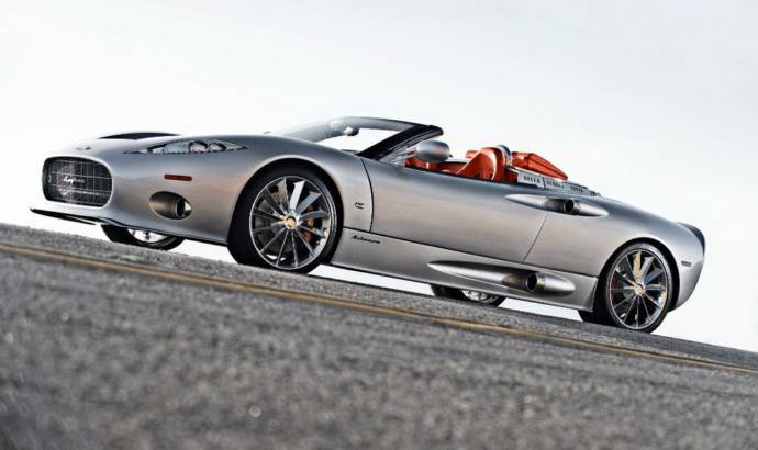 Spyker C8 Aileron Spyder UK debut