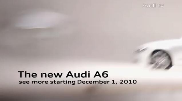 Video: 2012 Audi A6 teaser
