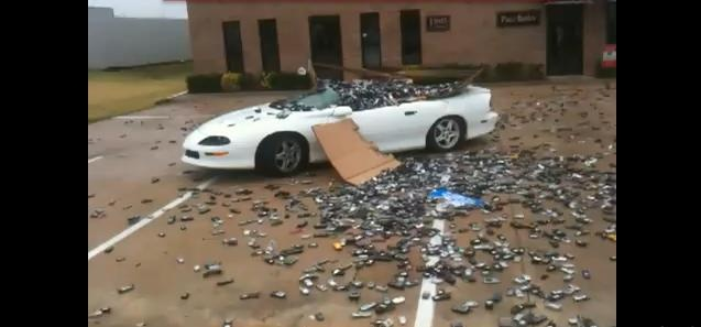 Video: Cell Phones vs Camaro