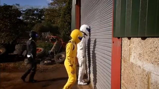 Video: Top Gear's New Stig From The Stig Farm