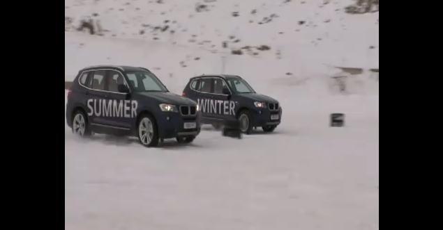 Video: Winter Tyres vs Summer Tyres