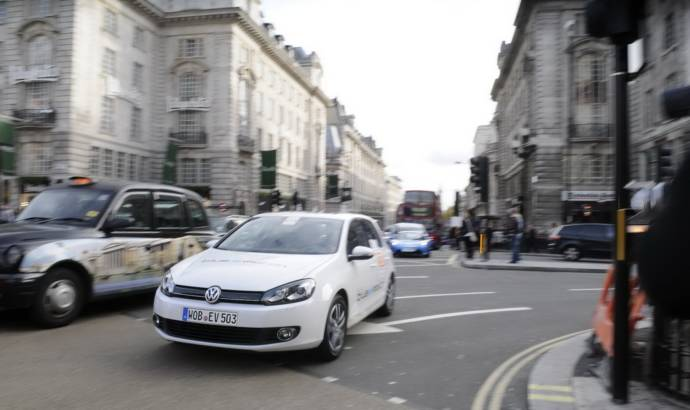 Volkswagen Golf Blue-e-motion wins future car challenge