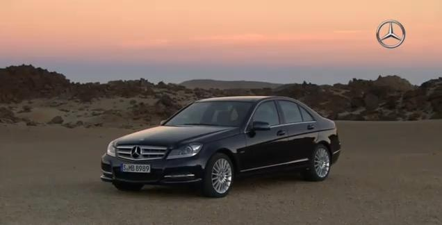 2012 Mercedes C Class video