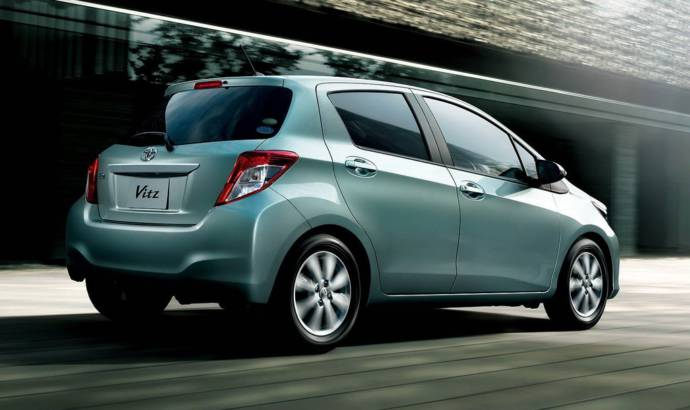 2012 Toyota Yaris facelift